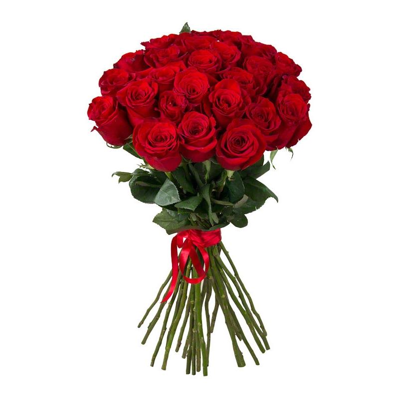 Как выглядит букет из 25 роз